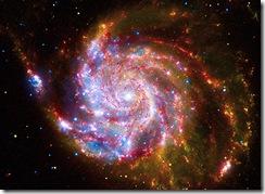 Messier 101-Spiral Galaxy